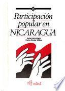 Participación popular en Nicaragua