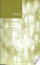 Paul Ricoeur : Palabra de Liberacion