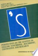 Perspectives on the Genitive in English
