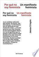 Por Qué No Soy Feminista