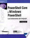 PowerShell Core y Windows PowerShell
