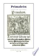 Primaleón (Salamanca, Juan de Porras, 1512)