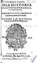 Primera parte de la historia de Sagunto, Numancia, y Cartago