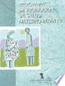 Programa de promoción de salud materno-infantil