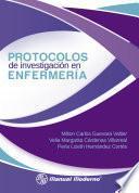 Protocolos de investigación en enfermería
