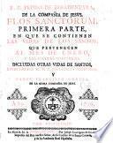 R.P. Pedro de Ribadeneyra ... Flos sanctorum