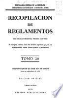 Recopilación de reglamentos