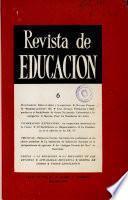 Revista de educación nº 6