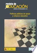Revista de educación nº extraordinario año 2012. Políticas públicas de apoyo y refuerzo educativo