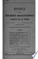 Revista de la Sociedad malacológica Carlos de la Torre ...