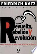 Revuelta, rebelión y revolución
