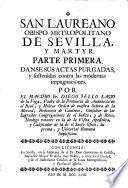 San Laureano, obispo metropolitano de Sevilla, y martyr