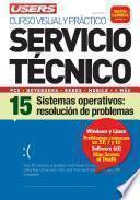 Servicio Técnico 15: Sistema operativo: resolución de problemas
