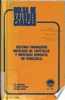 Sistema financiero, mercado de capitales y mercado bursátil en Venezuela