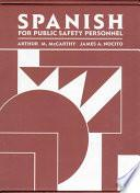 Spanish for Public Safety Personnel