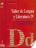 Taller lengua y literatura IV