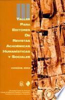 Taller Para Editores de Revistas Académicas