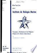 Taxonomía y distribución de los poliquetos pelágicos del Atlántico Sudoccidental