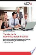 Teoría de la Administración Públic