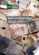 Teoría de la financiación