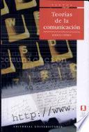 Teorias de la Comunicacion
