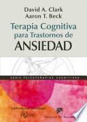 Terapia cognitiva para trastornos de ansiedad