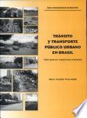 Tránsito y transporte público urbano en Brasil