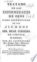 Tratado de las enfermedades de ojos para instrucción de los alumnos del Real Colegio de Cirugía de Barcelona