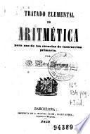 Tratado elemental de aritmética