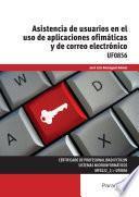 UF0856 - Asistencia de usuarios en el uso de aplicaciones ofimáticas y de correo electrónico