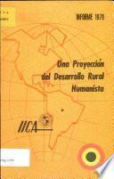 Una Proyeccion del Desarrollo Rural Humanista