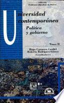 Universidad contemporánea: Política y gobierno