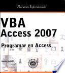 VBA Access 2007