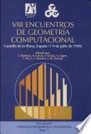 VIII encuentros de geometría computacional